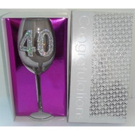 Clear Wine Glass #40