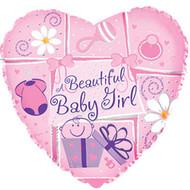 "4"" CTI Foil - IAG ""Baby Girl"""