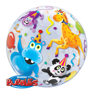 "Party Animals - Inflated 22"" Bubble"