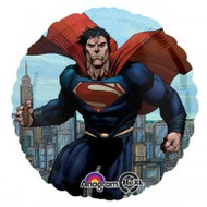 Superman Birthday - Inflated Foil