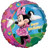 Minnie Mouse Birthday - Inflated Foil