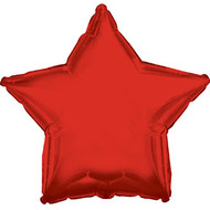 Red Star - 43cm Inflated Foil