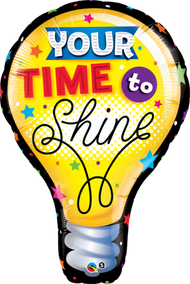 "Time To Shine - Inflated 40"" Shape"