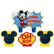 "Candles - Birthday ""Mickey Mouse"""