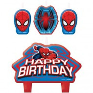 "Candles - Birthday ""Spiderman"""