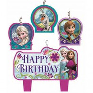 "Candles - Birthday ""Frozen"""