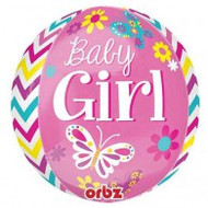 Baby Girl - Inflated Round Orbz