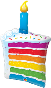 """Birthday Candle - 42"""" Inflated Shape"""