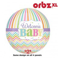 "Baby ""Welcome Baby"" - Flat Orbz"