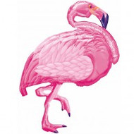 "Pink ""Flamingo"" Shape - Inflated"