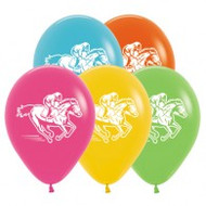 "30cm ""Horse Racing"" Latex - Loose Each"