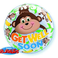 "22"" GWS ""Monkey"" Bubble - Inflated"
