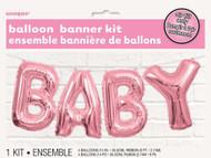 "14"" (35.5cm) Pink ""BABY"" Kit - Air Inflation"