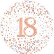 #18 Rose Gold - 45cm Flat Foil