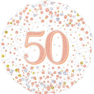 #50 Rose Gold - 45cm Flat Foil