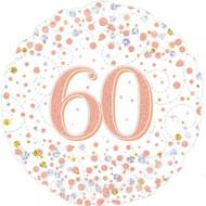 #60 Rose Gold - 45cm Flat Foil