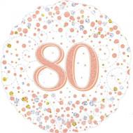 #80 Rose Gold - 45cm Flat Foil