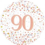 #90 Rose Gold - 45cm Flat Foil
