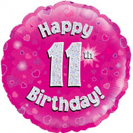 #11 Holographic Pink - 45cm Flat Foil