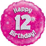 #12 Holographic Pink - 45cm Flat Foil