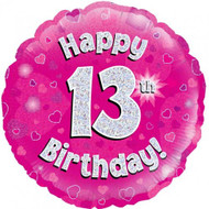 #13 Holographic Pink - 45cm Flat Foil