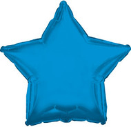 43cm Solid Blue Star - INFLATED