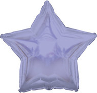 43cm Solid Lavender Star - Inflated