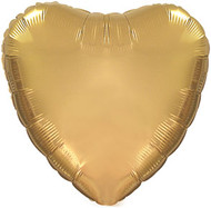 43cm Solid Gold Heart - INFLATED