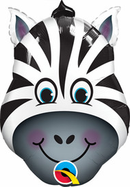 "Animal ""Zany Zebra"" - 32"" Flat Shape"