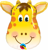 "Animal ""Jolly Giraffe"" - 32"" Flat Shape"