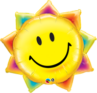 "Smiley Face ""Sunshine"" - 35"" Flat Shape"
