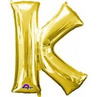 86cm Flat Alphaloon - Gold K