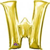 86cm Flat Alphaloon - Gold W