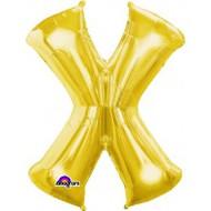 86cm Flat Alphaloon - Gold X