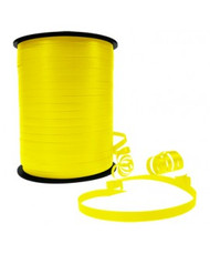 5mm x 460mt Roll Yellow Curl Ribbon