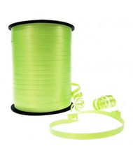5mm x 460mtr Roll Lime Green Curl Ribbon