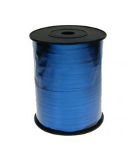 5mm x 450mtr Blue Metallic Curl Ribbon