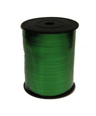 5mm x 450mtr Green Metallic Curl Ribbon