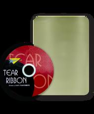 32mm x 91mtr Ivory Tear Ribbon