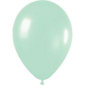 30cm Pearl Light Green Latex - Pkt 100