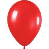 30cm Metallic Red Latex - Pkt 100