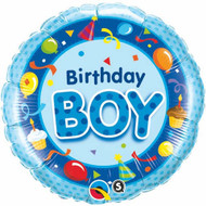 Birthday Boy - 45cm Flat Foil