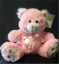 Bouquet Addition - 34cm Pink Bear
