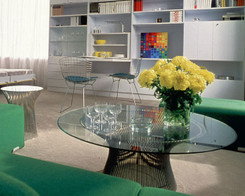 Knoll - Platner coffee table (glass)
