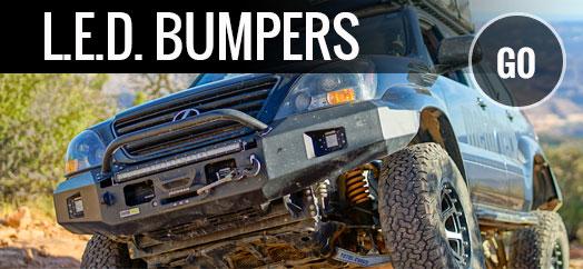 MOST DURABLE SUSPENSION L.E.D. BUMPERS SLIDERS  sc 1 th 152 & Off Road Parts u0026 Accessories | Metal Tech 4x4