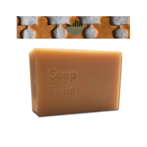 Superfat Handcrafted Natural Soap 6 oz Bar Limited Edition Gingerbread