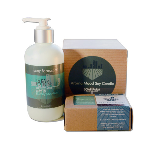 Aromatherapy Body and Home Gift Set Trio