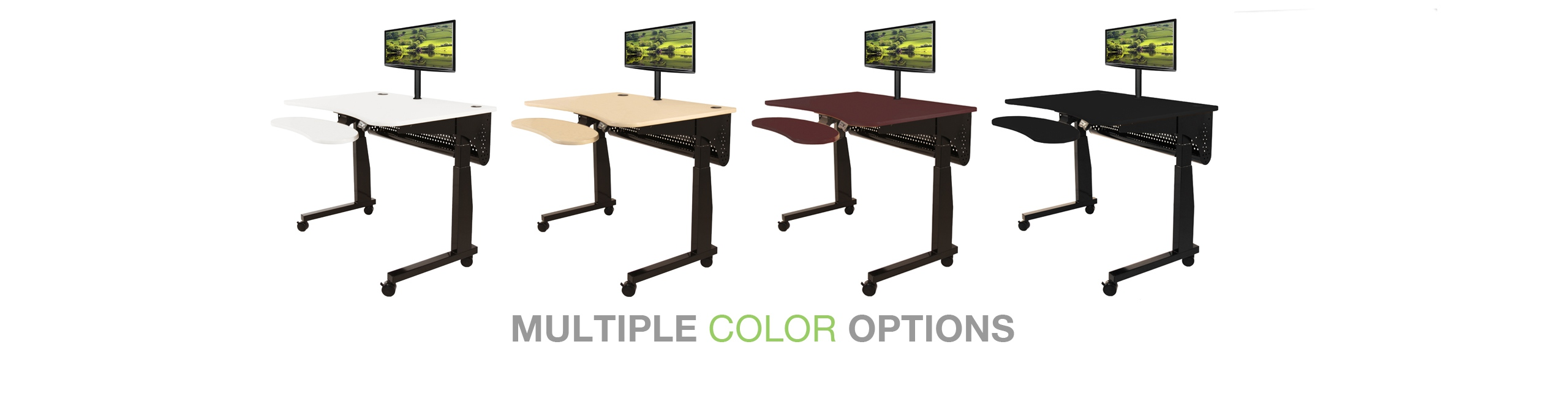 Sit To Stand Adjustable Height Desk And Tables Made In