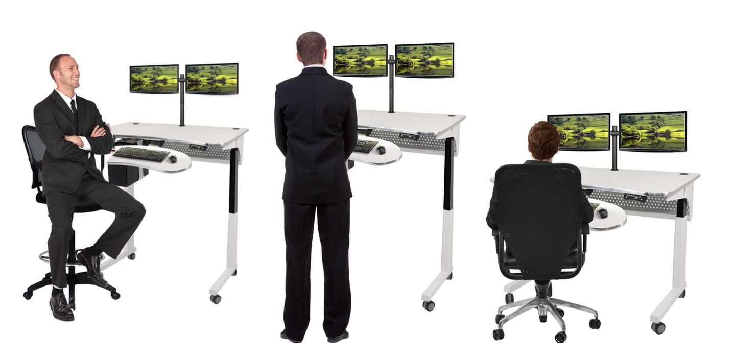 Elegant Standing Desk Electric Lift Desk Table Sit To