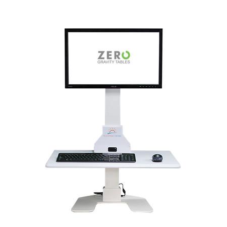 Sunrise Desk Single Monitor Setup | Front Full View